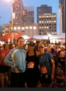 Marathoners share sense of accomplishment